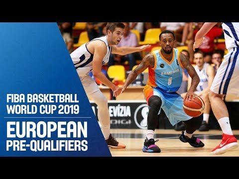 Slovak Republic V Armenia - Full Game - FIBA Basketball World Cup 2019 - European Pre-Qualifiers