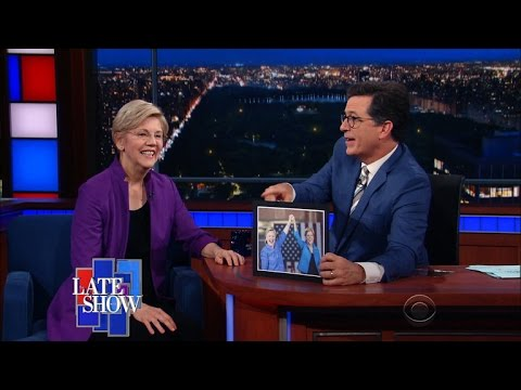 "Elizabeth Warren: ""I Like Women Who Fight Back"""