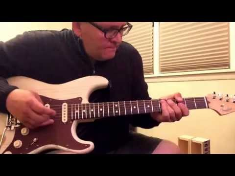Fender Stratocaster with Texas Special Pickups run clean Through Fender Blues Junior III.