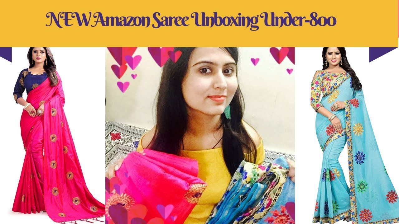a412156bfa799e Unboxing Best Saree From Amazon | Online Shopping haul | Amazon ...