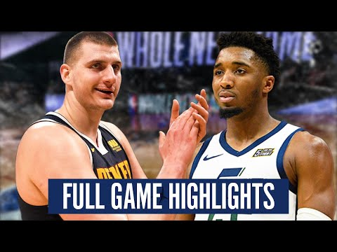 JAZZ at NUGGETS GAME 2 - FULL GAME HIGHLIGHTS   2019-20 NBA PLAYOFFS