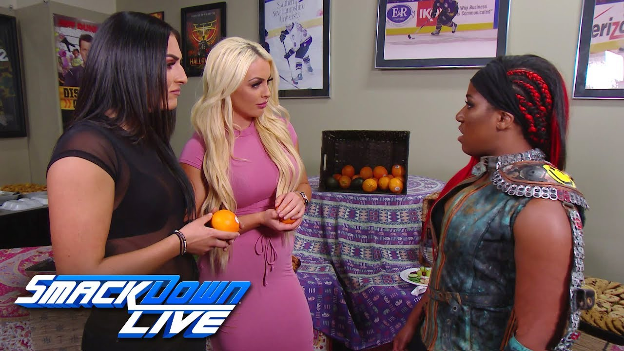 Ember Moon confronts Mandy Rose & Sonya Deville: SmackDown LIVE, July 9, 2019