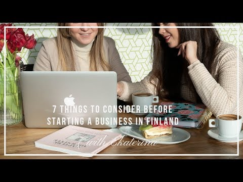 7 with Ekaterina: Starting a Business in Finland