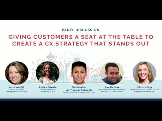 Post for video 'Use CX to Give Customers a Seat at the Table