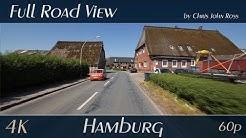 Hamburg, Germany: Moorburg, Francop, Neuenfelde - Altes Land - 4K (UHD/2160p/60p)