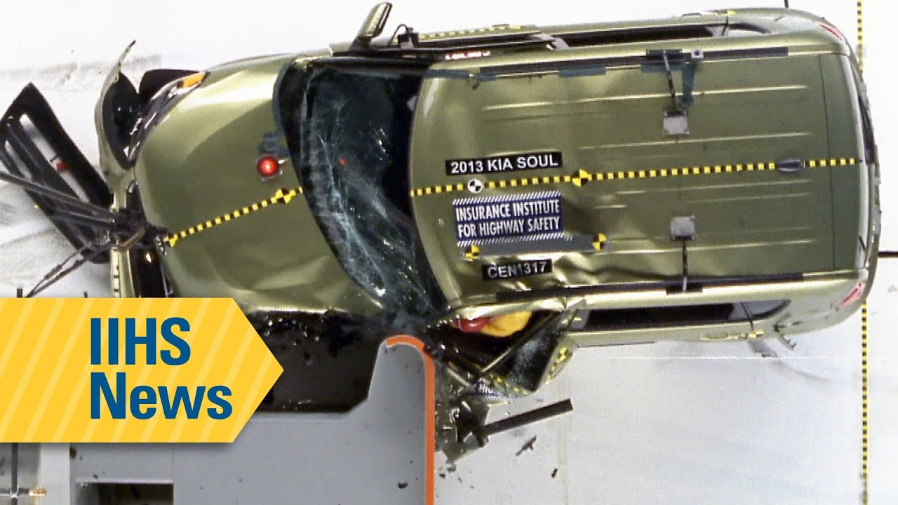 Small overlap crash test results for small cars - IIHS News