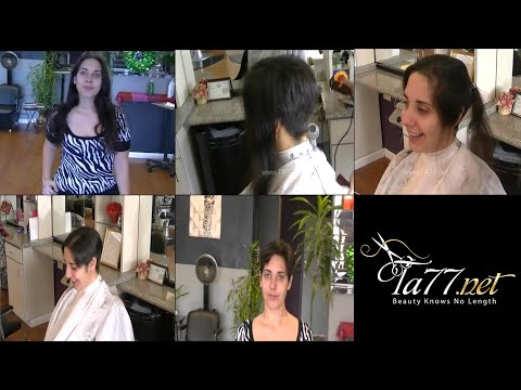 Free TA77.net video - Zephra (2012) She gets a long pixie cut