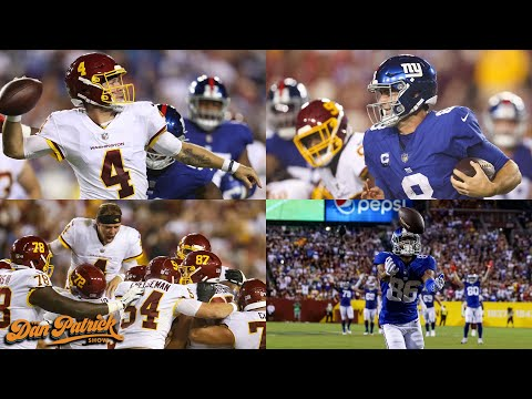 Are The Giants In Trouble? DP Recaps the Washington Football Team's Win Over The Giants | 09/17/21