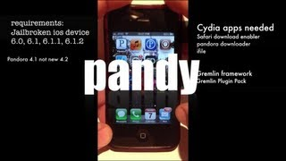 How to get pandy 0.0.5-2 back easy Pandora ripper