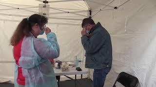 Un vaccinodrome à Avallon (89)