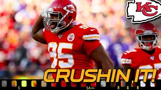 Chiefs Chris Jones Crush Vikings High-Power Offense - Film Room | Kansas City Chiefs News NFL 2019