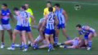 Barry Hall headlock on Scott Thompson