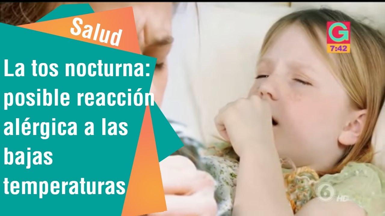 causas de tos nocturna en bebes