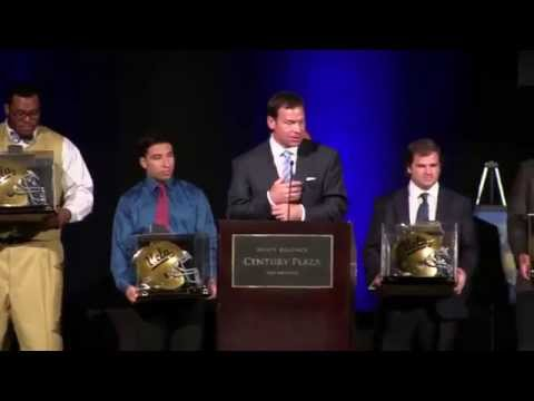 2014 UCLA Football Awards - Outstanding Senior Awards and Bruin Force