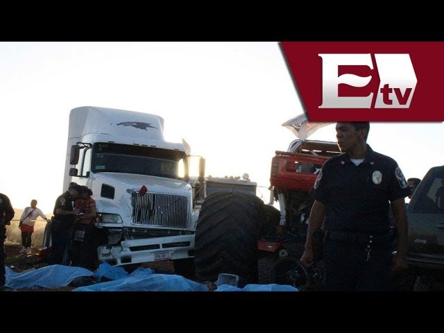 Monster Truck: despiden a las víctimas del fatal accidente / Monster Truck accident Videos De Viajes