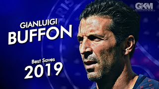 Gianluigi Buffon - Best Saves - Legend - PSG - 2018/19HD