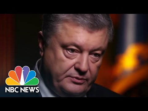 Poroshenko : 'Please, Get Out From Ukraine, Mr. Putin' | NBC News