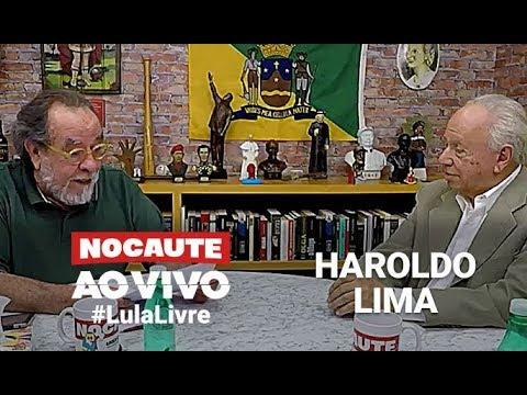 #LULALIVRE: FERNANDO MORAIS ENTREVISTA HAROLDO LIMA