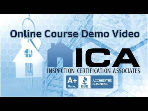 Download 2021 ICA Home Inspection New Course Demo Video