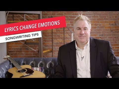 Quick Songwriting Tips: Write Lyrics that Change Emotions  | Tip 3/8 | Berklee Online