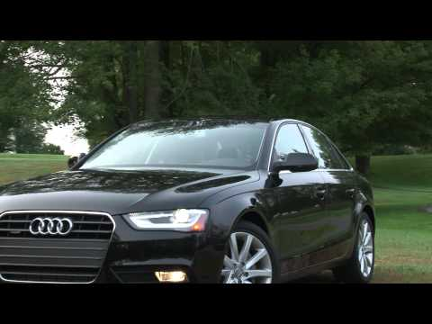 2013 Audi A4 - Drive Time Review with Steve Hammes | TestDriveNow