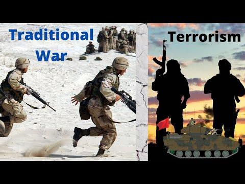 difference-between-traditional-war-&-terrorism-|-defence-&-strategic-studies-|-defence-taiyari
