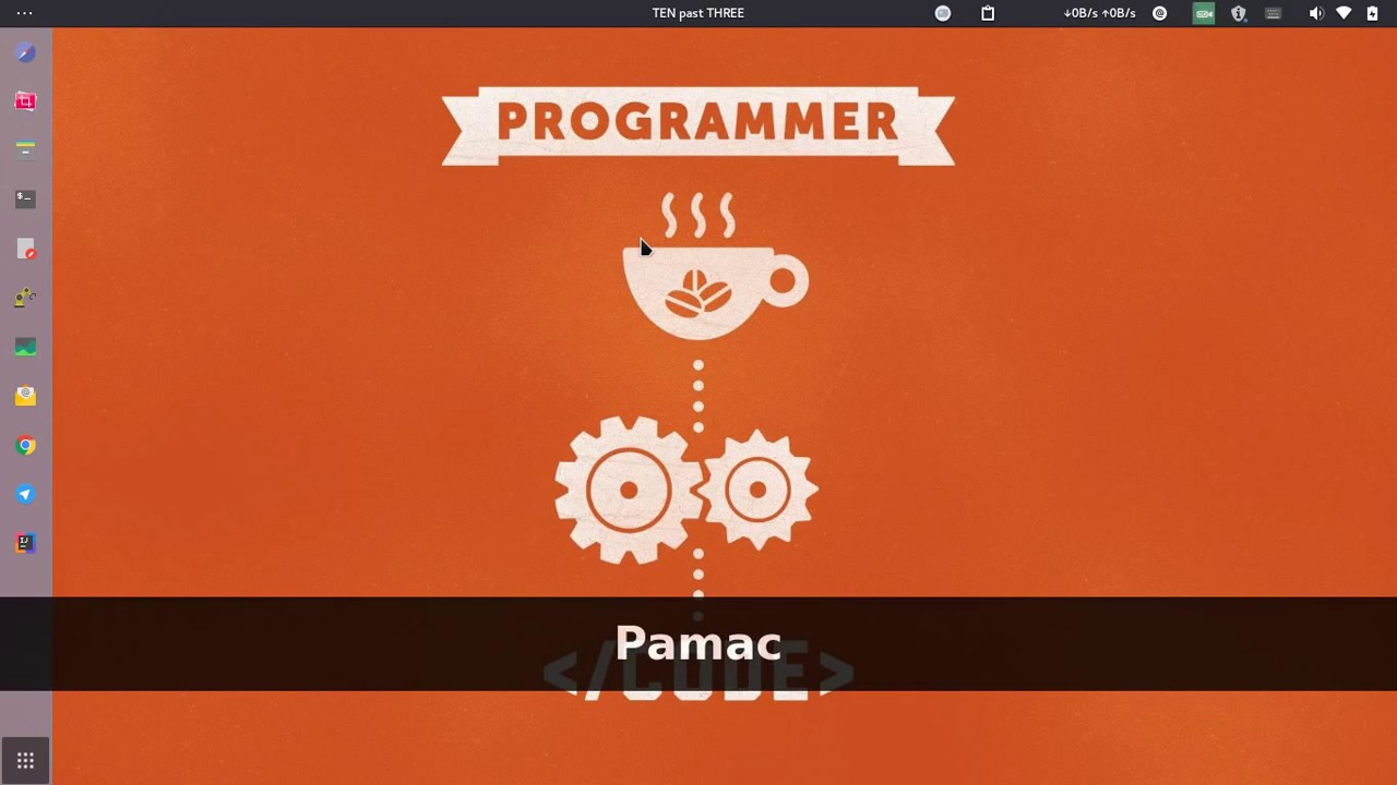 Pamac Arch Package Manager