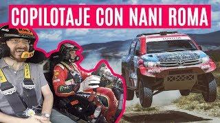 NANI ROMA nos pone firmes en su TOYOTA HILUX T1 DAKAR (con entrevista) | Coches SoyMotor.com