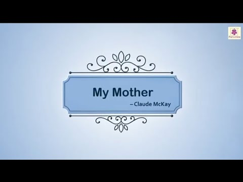 My Mother - A Touching English Poem by Claude McKay | Periwinkle