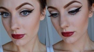 Retro Pin Up Inspired Makeup Tutorial