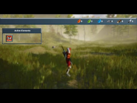 Unreal Inventory Widget - Resource Buttons - UE4 Tutorials #205