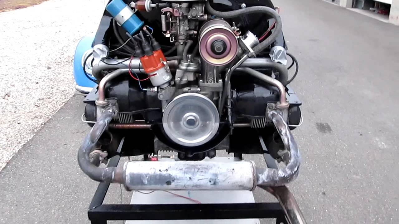 1600cc Single Port Vw Engine W 4000 Miles Youtube
