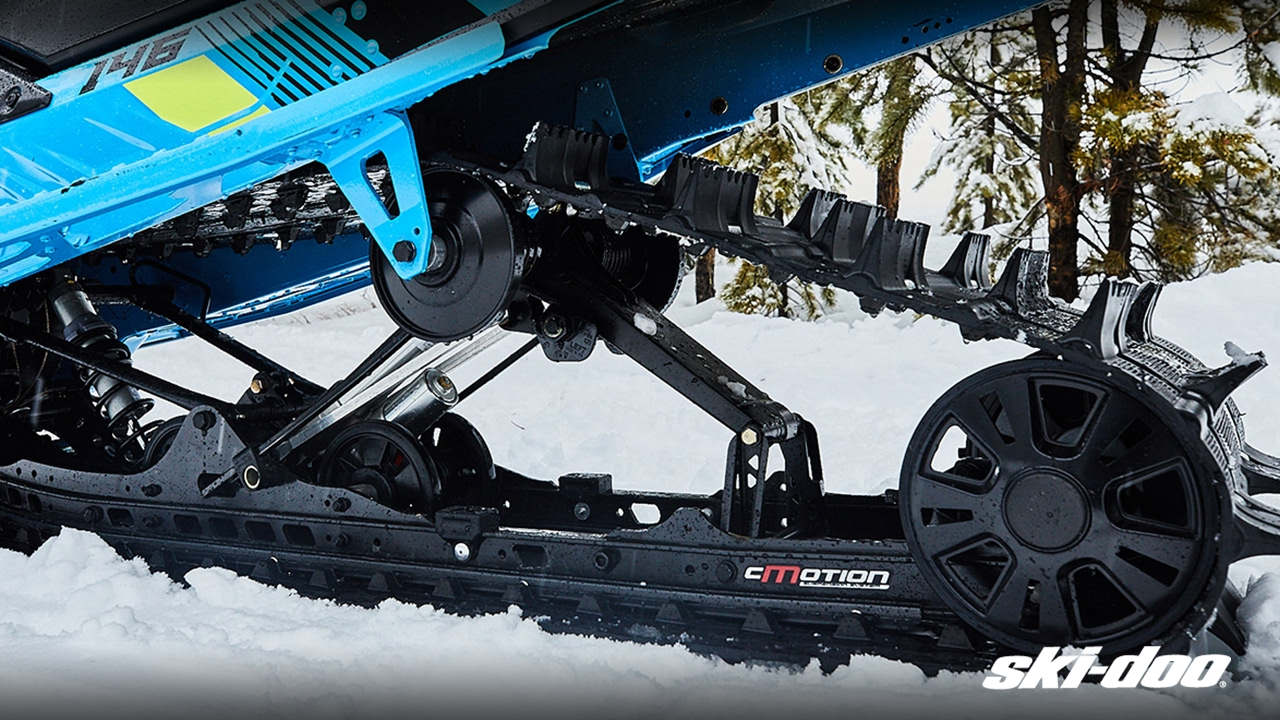 The cMotion Rear Suspension –Ski-Doo