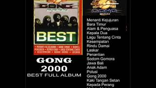 Gambar cover GONG 2000 BEST FULL ALBUM
