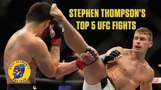 Stephen Thompson's Top 5 UFC fights | Ariel Helwani's MMA Show