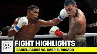 HIGHLIGHTS | Daniel Jacobs vs. Gabriel Rosado