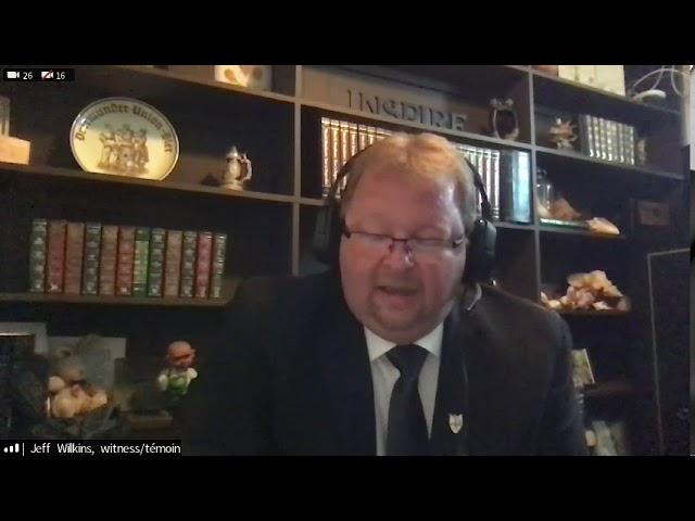 Français: Question du sénateur Donald Plett