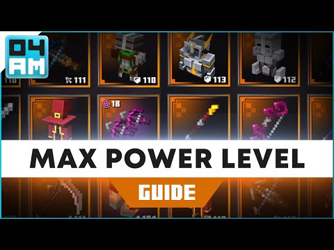 Minecraft Dungeons: How To Get Highest Max Power Level Weapons & Armor Fast