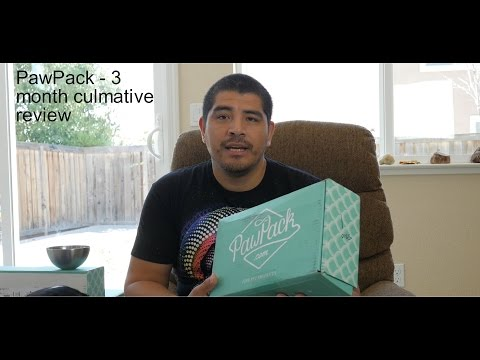 PawPack 3 month review & unboxings - In-Depth Review