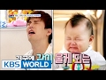Download Video Eli's child care instead of his sick wife [Mr. House Husband / 2017.02.14]