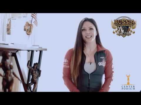 IFBB Pro League Бодибилдинг в России Оксана Гринина отвечает на вопросы