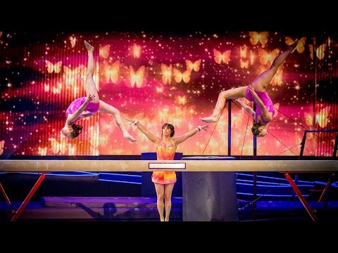 Beth Tweddle's Showcase Performance to 'Rule The World' - Tumble: Episode 2 - BBC One