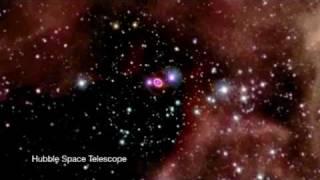 Patlayan yıldızın video kaydı