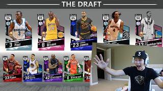 THE DRAFT! NEW GAMEMODE IN NBA 2K17!!