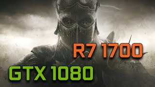 For Honor   GTX 1080 G1 Gaming + Ryzen 7 1700   1080p Max Settings  