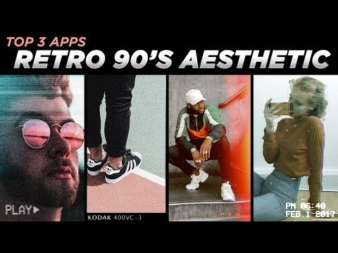 Best Instagram Apps for RETRO 90's AESTHETIC | Stories + IGTV + Photos | DevanOnDeck