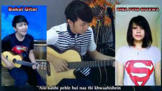 Nathan Fingerstyle Feat. Dhea Puse Shakwa (Aashiqui 2) Chahun Main Ya Naa