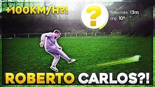 FOOT IRL | MA PUISSANCE DE FRAPPE ? +100 KM/H ?!! #VinskyPuissance