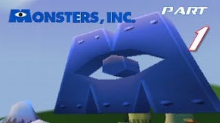 Monsters Inc Scream Team   Part 1   WELCOME TO PS1 HEAVEN