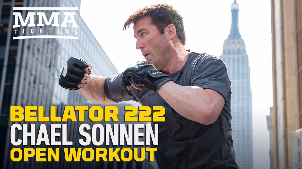 Bellator 222: Chael Sonnen Open Workout Highlights - MMA Fighting